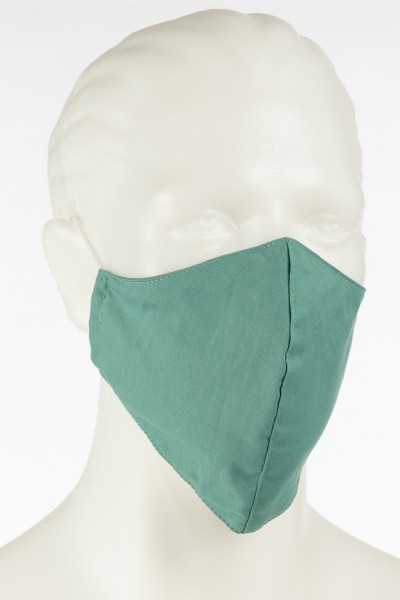 Unifarbene Herren Maske von FineStuff